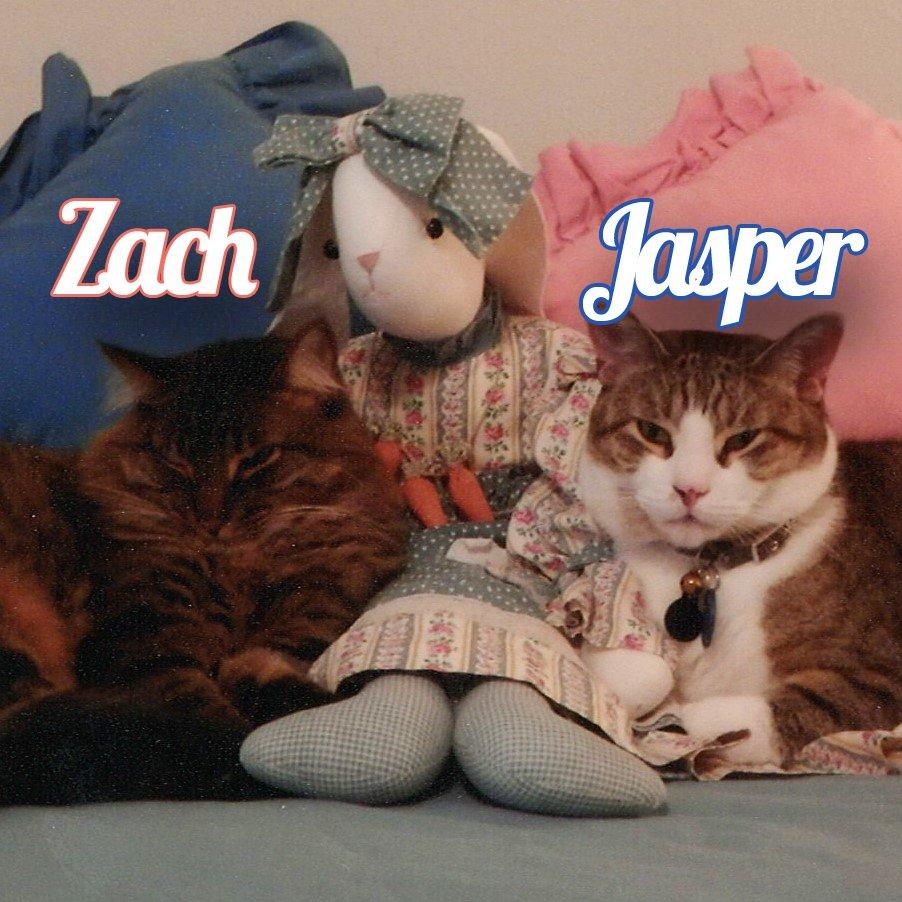 Jasper and Zach