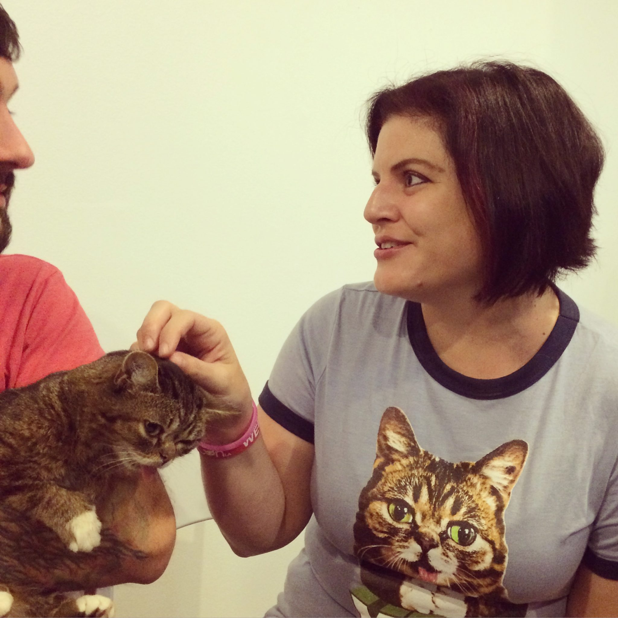 Lil BUB and Marci 2