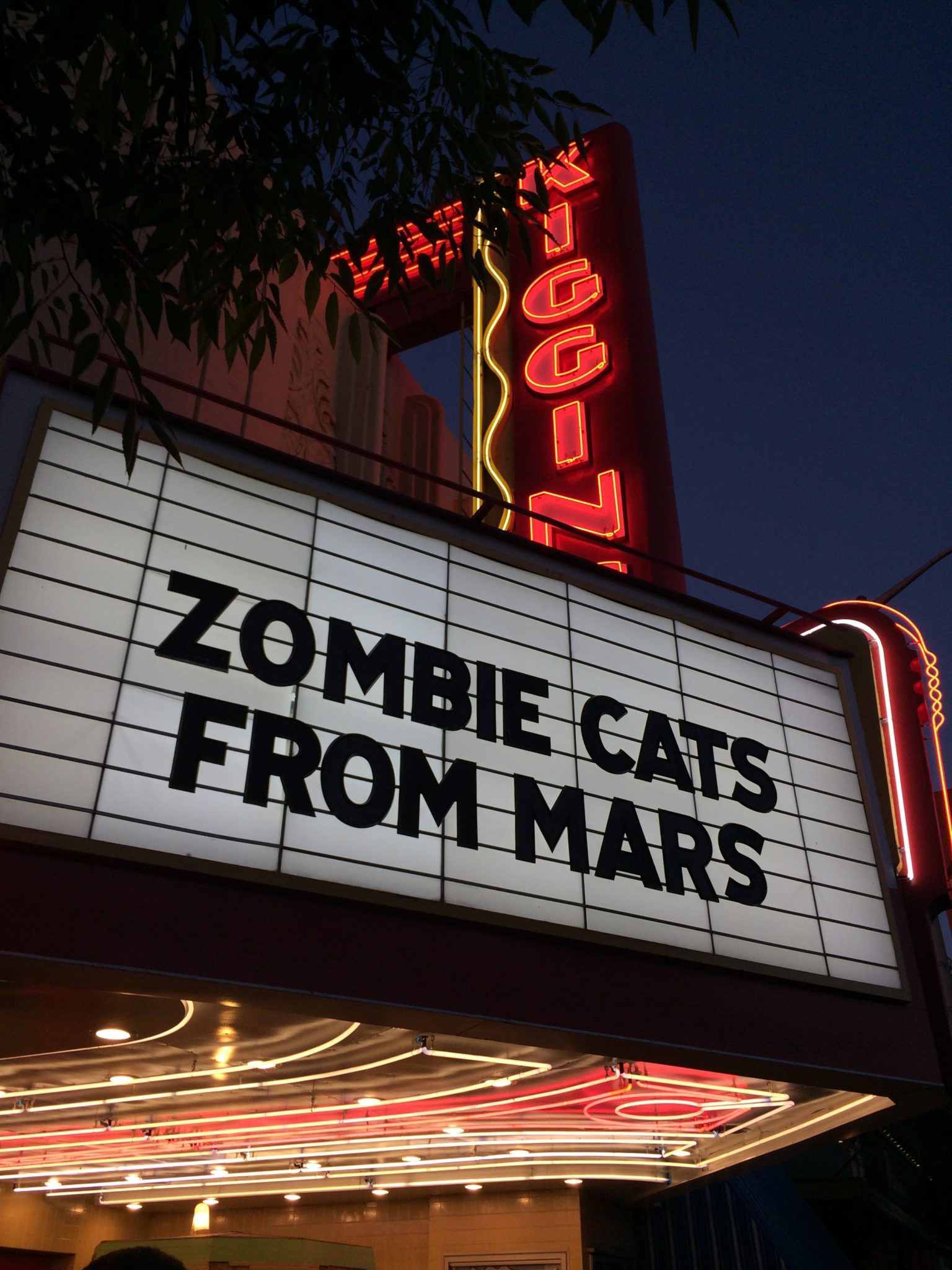 Zombie Cats From Mars – Marquee