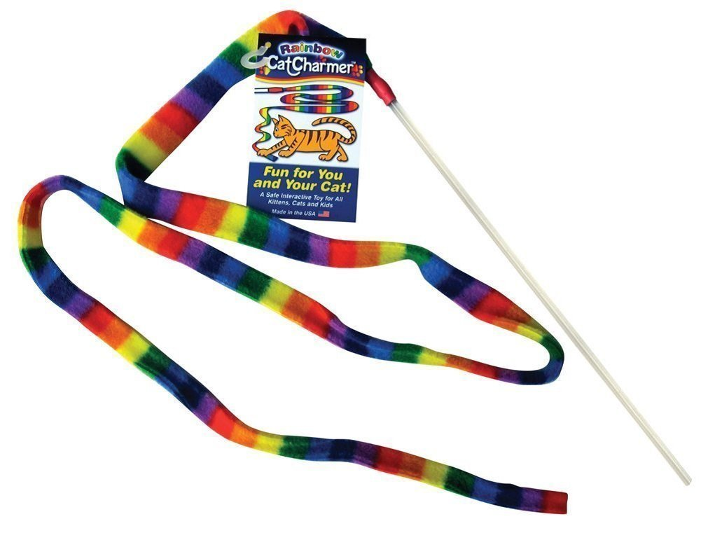 Cat Charmer Rainbow Wand Image
