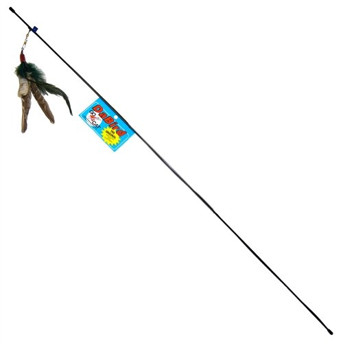 Da Bird Wand Toy with Feather Attachment Image