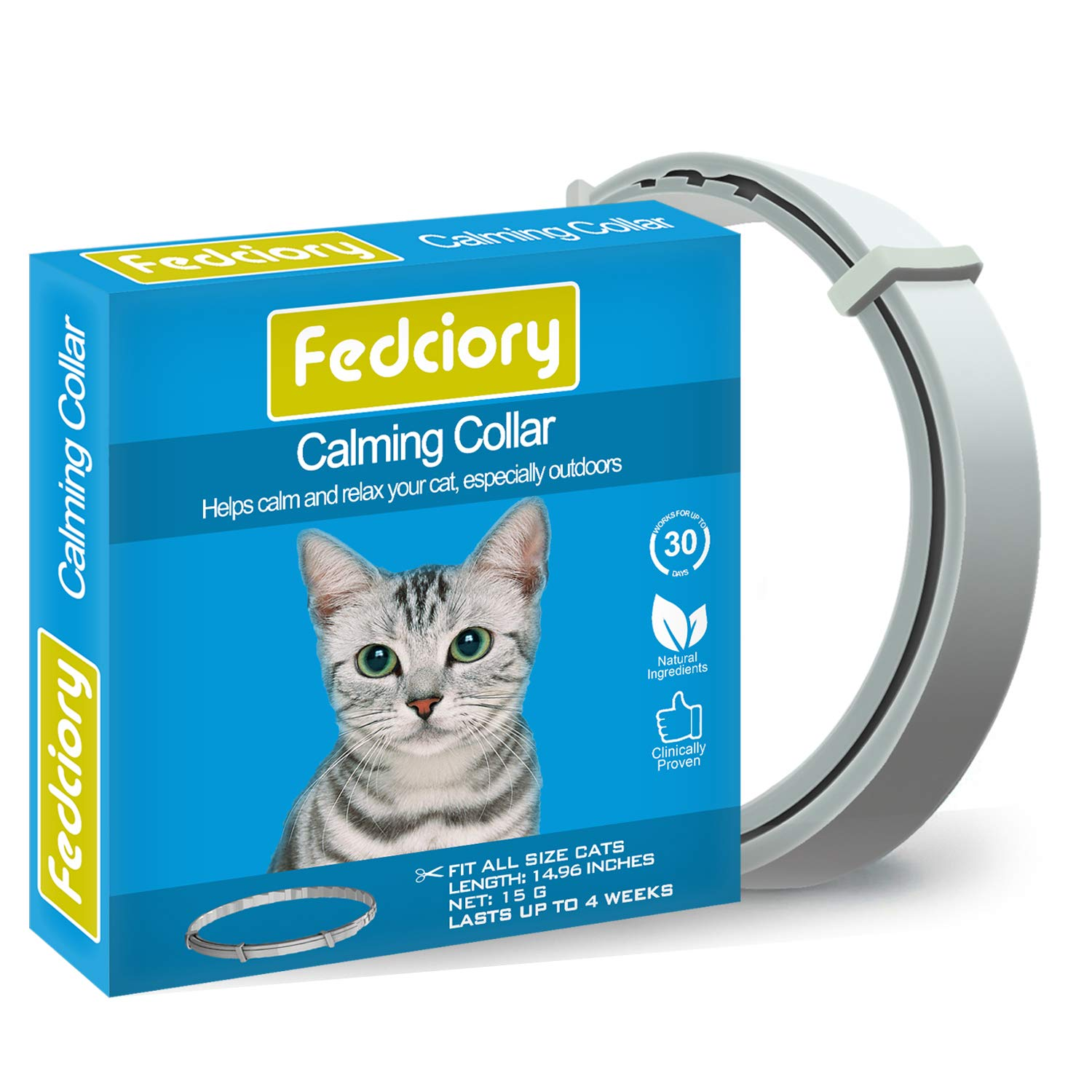 Calming Collar for Cats (Fedciory) Image
