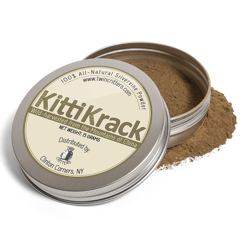KittiKrack Silvervine Powder (Twin Critters) Image