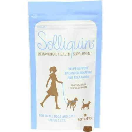 Solliquin Calming Chews (Cats Under 8 Lbs) Image