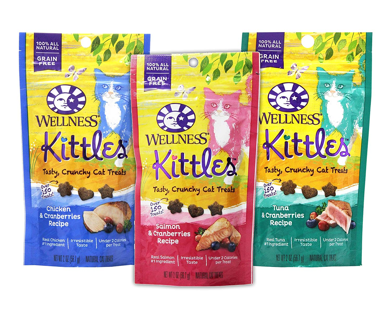 Kittles Cat Treats 3-Pack (Wellness) Image