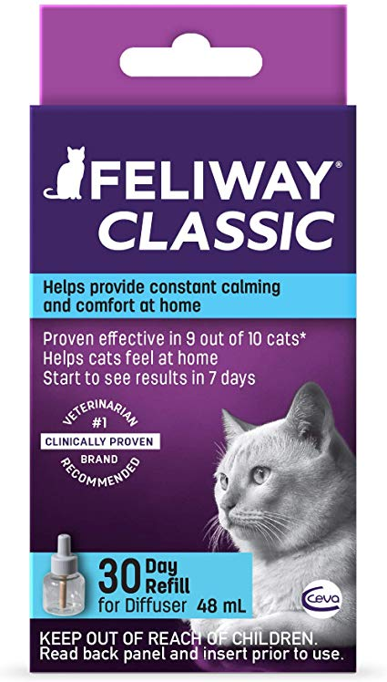 Feliway Classic 30-Day Diffuser Refill Image