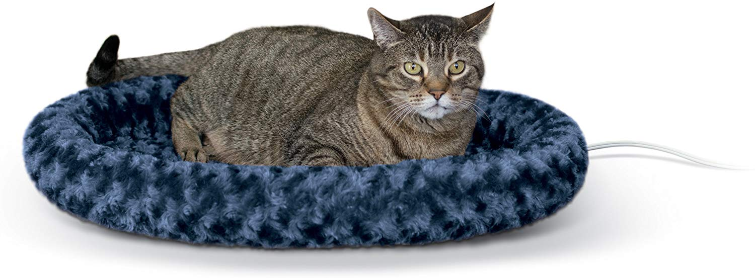 Heated Thermo-Kitty Pet Bed Image