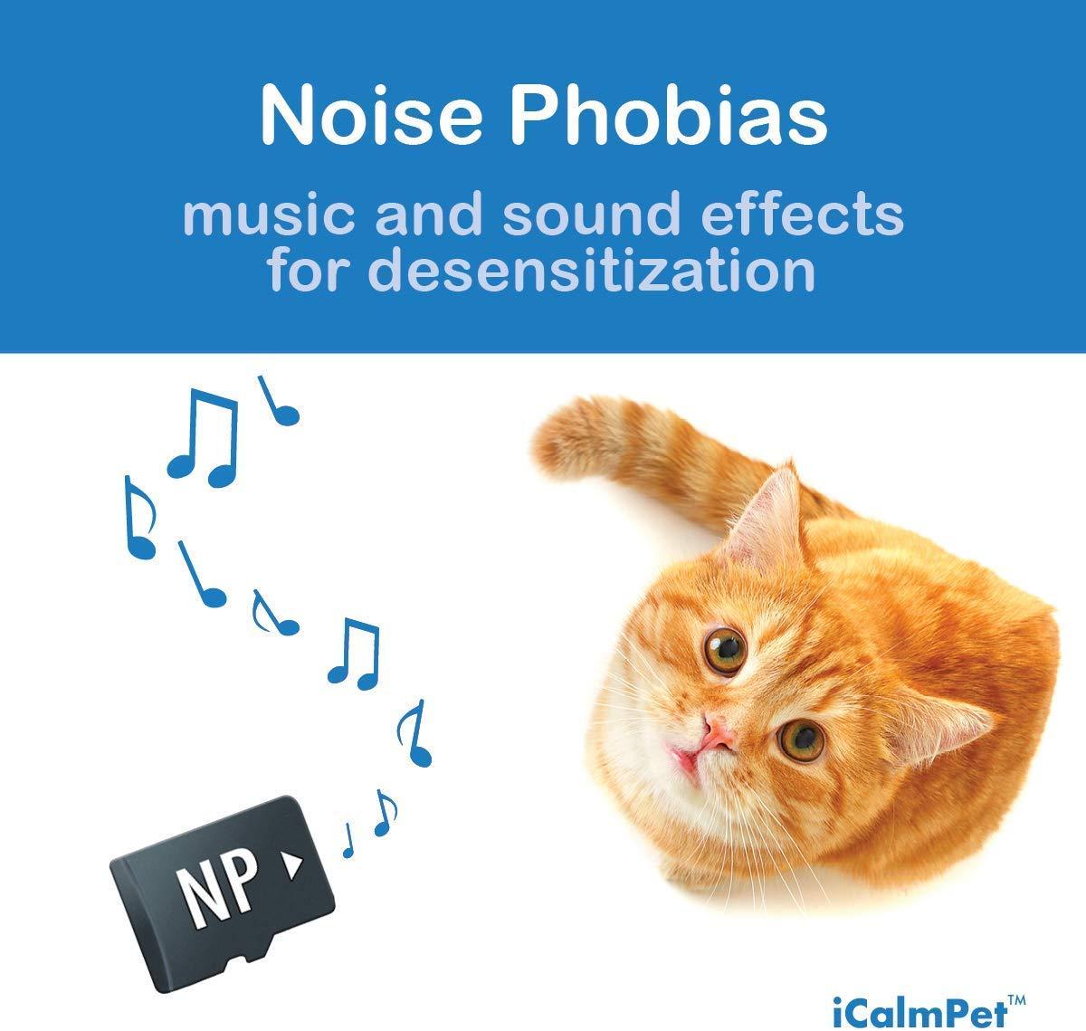 iCalmCat Music for Cat Noise Phobias (SD Card for iCalmCat Speaker) Image