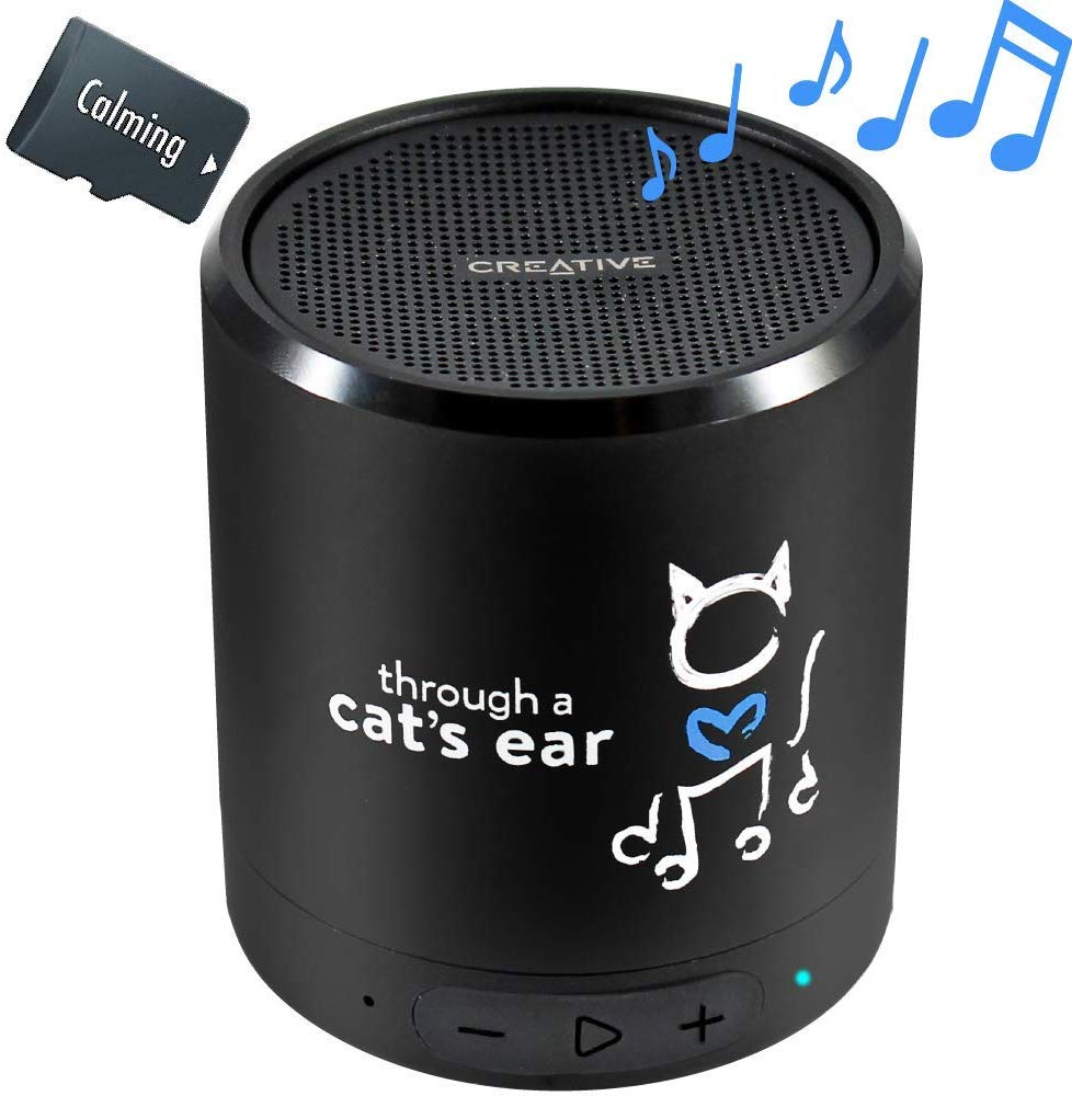 iCalmCat Portable Speaker with Calming Music Image