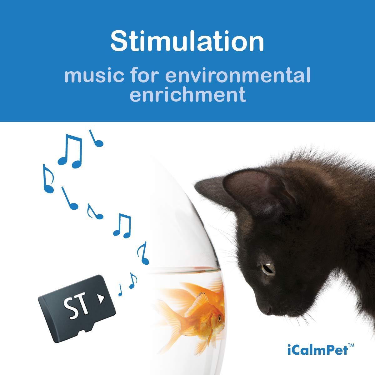 iCalmCat Music for Cat Stimulation (SD Card for iCalmCat Speaker) Image