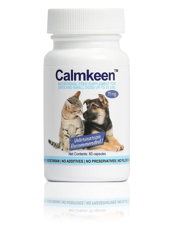 Calmkeen Calming Supplement (75 mg, 60 Capsules) Image