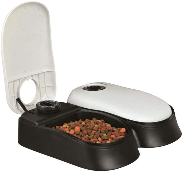 Automatic Cat Feeder with Ice Packs - Double Unit (PetZilla) Image