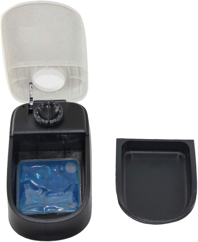 Automatic Cat Feeder with Ice Pack - Single Unit (PetZilla) Image
